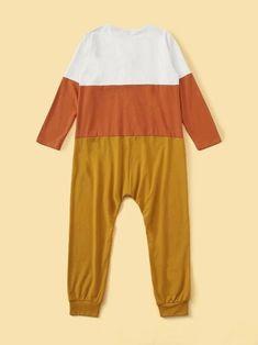 Style: CasualColor: MulticolorPattern Type: ColorblockNeckline: Round NeckType: Pajama JumpsuitDetails: ButtonSleeve Length: Long SleeveComposition: Cotton, SpandexMaterial: CottonFabric: Fabric has some stretch Satin Pj Set, Sleepwear & Loungewear, Pj Sets, Spandex Material, Pajama Set, Color Blocking, Lounge Wear, Cotton Fabric, Jumpsuit