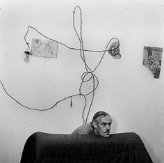 Head below Wires by Roger Ballen, 1999. See the Exposure column at Design Observer. http://designobserver.com/feature/exposure-head-below-wires-by-roger-ballen/38874/