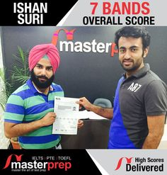 Their results speak about our expertise. If you are also vying to score well in #IELTS, #TOEFL or #PTEAcademic, enrol with the best #EnglishTraining institute in North India, #MasterPrep! www.masterprep.in