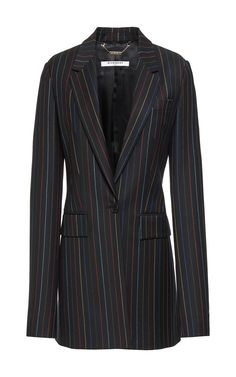 Pinstripes Wool Jacket by GIVENCHY for Preorder on Moda Operandi