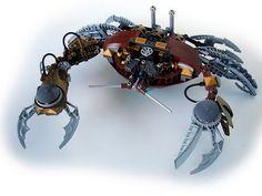 steampunk crab