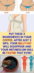 Weight Loss Remedies Daily Health Advisor : Put These 2 Ingredients In Your Coffee. After Just 2 Sips, Your Belly Fat Will Disappear And Your Metabolism Will Be Faster That Ever! Weight Loss Drinks, Weight Loss Tips, Lose Weight, Health Diet, Health And Wellness, Health Fitness, Daily Health Tips, Health Care, Autogenic Training