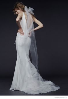 Vera Wang Goes Rock Glam for Fall 2015 Bridal Line