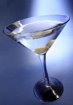 Martini, gin or vodka, very very cold please