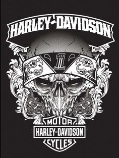 Various pieces and type treatments developed for Harley-Davidson.