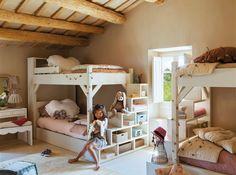 El reino de los niños: 20 dormitorios para todas las edades