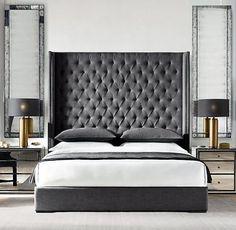 Luxury Bedroom Design, Master Bedroom Design, Master Suite, Design Hotel, Home Design, Design Design, Design Ideas, Interior Modern, Home Interior