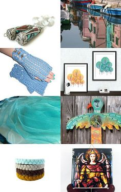 Tagged with Teal by Mary Carrellas on Etsy--Pinned with TreasuryPin.com