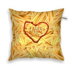 """""""This fries pillow is crispy and soft like the real food."""""""