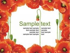3 Poppy and Daisy Floral Vector Background Set - http://www.dawnbrushes.com/3-poppy-and-daisy-floral-vector-background-set/