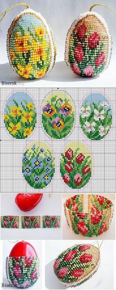 Пасхальные яйца / Пасхальные изделия / Biserok.org