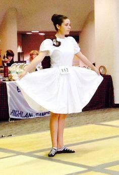 White dress - Karen's Kilts & Highland Dance Costumes