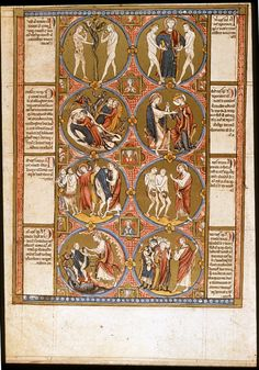 Vienna Bible Moralisée, Genesis, c.1220-1230