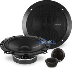"FRONT SPEAKERS - Rockford Fosgate PRIME R165-S 6-1/2"" 2-Way PRIME Series Component Car Speakers System"