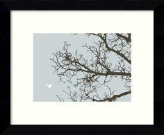 'Whimsy Tree' Framed Graphic Art
