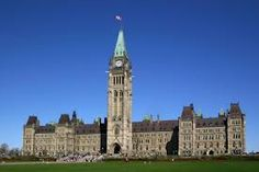 Parliment in Ottawa ( Canada's capital)