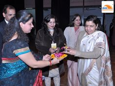 Lamp Lighting Ceremony by Chief Guest at IIT Delhi, First National Maths Symposium organized by AVAS India