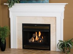 Fireplace Mantels And Surrounds | Newport Wood Fireplace Mantel Surround - 52391