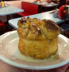 Broadway Diner  Right out of the oven folks!  Fresh peach sweet rolls . . . Get 'Em while they're hot!  #nomnom #diner