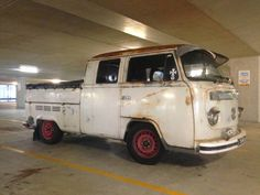 76 late bay crewcab pick up truck