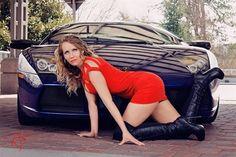 Ashley Bowen: Ashley-Lamborghini-2