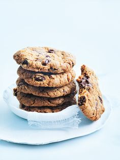 Classic choc-chip cookies with the benefits of oats!