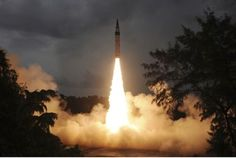 India Test-Fires Agni Nuclear-Capable Missile -- New generation of Indian-made ballistic missile is designed to cover China, not just Pakistan