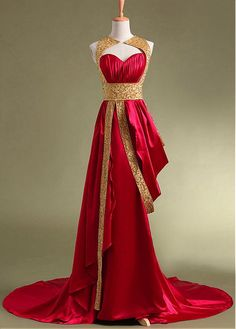 Chic Dubai Stretch Satin Jewel Neckline A-line Arabic Evening Dresses with Beadings #selectprom