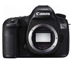 """Canon 5DS R DSLR Camera Body, 50.6MP, Low-Pass Filter Effect Cancellation, 3.2"""" ClearView II LCD Display, Audio Out, Canon N3, HDMI C (Mini), USB 3.0"""