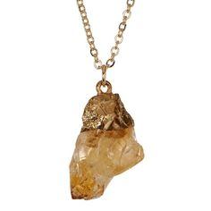Stephan & Co Raw Stone Pendant Necklace ($9.97) ❤ liked on Polyvore featuring jewelry, necklaces, natural, stone necklaces, stone necklace pendant, stone jewelry, stone jewellery and stone pendant jewelry