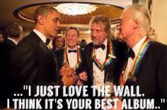 Obama's favorite is Pink Floyd not Led Zeppelin  :)