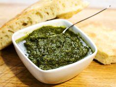 Grön pesto (kock Sacha Smederevac)