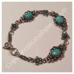 I'm selling Tibetan silver turquoise bracelet with now - A$15.00 #onselz