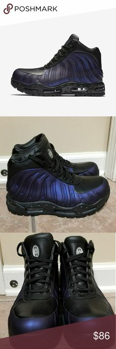 best service 5dbb6 23baa Nike Air Max Foamdome Purple Eggplant boot Nike Air Max Foamdome Purple  Eggplant Foamposite Boot 843749 500 Size 7.5 100% AUTHENTIC THANK YOU Nike  Shoes ...