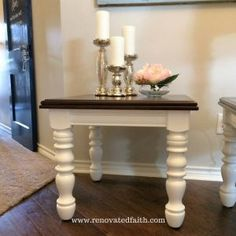 How To Gel Stain Wood Furniture – Easy Stain Over Paint Technique! How To Gel Stain Wood Furniture – Easy Diy Furniture Stain, Furniture Removal, Refurbished Furniture, Repurposed Furniture, Furniture Makeover, Furniture Handles, Furniture Projects, Kitchen Furniture, Redoing Furniture