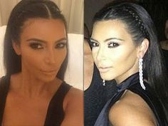Kim Kardashian Braids Not Much for Hair Trends but Love Her Braided Hairdo has a Feel of Past Timelines Hair Styles