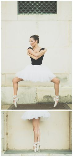 ballet senior portraits, ballet ideas, best senior photography, senior portrait ideas, senior photography, young dancer, natural light, black leotard, white tutu, dance moves, ballet poses, stances