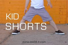 Kid Shorts - I originally found this great project on freeneedle.com along with 1,000s of other free sewing and craft ideas!
