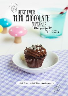 best ever mini chocolate cupcakes / love from ginger