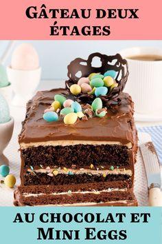 Le dessert de Pâques que vous devez absolument essayer! Le chocolat et les Mini Eggs forment un duo décadent à souhait! Mini Egg Recipes, No Egg Desserts, Mini Eggs, Tiramisu, Cupcakes, Sugar, Ethnic Recipes, Food, Parfait