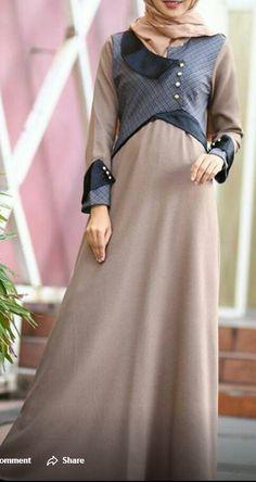 Batik Fashion, Abaya Fashion, Fashion Outfits, Moslem Fashion, Hijab Style Dress, Abaya Designs, Muslim Dress, Islamic Clothing, Formal Looks