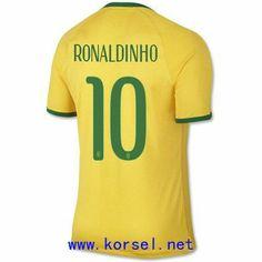 Maillot de foot Bresil Domicile Coupe du monde 2014 (10 Ronaldinho) Jaune Pas Cher http://www.korsel.net/maillot-de-foot-bresil-domicile-coupe-du-monde-2014-10-ronaldinho-jaune-pas-cher-p-3246.html