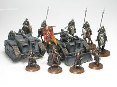 Death Korps of Krieg HQ + Transports | Flickr - Photo Sharing!