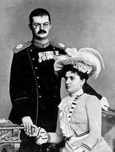 King Alexander I Obrenović of Serbia and Queen Draga, ca. 1900 - Alexander I of Serbia - Wikipedia, the free encyclopedia
