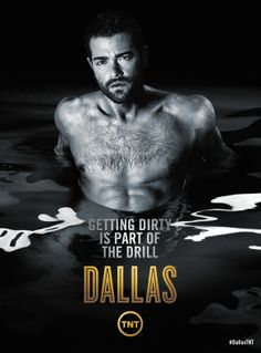 TNT promotes the new season of 'Dallas' with sexy promo posters showing Josh Henderson and Jesse Metcalfe shirtless Dallas Tnt, Dallas Tv Show, Memo Boards, Josh Henderson, Jesse Metcalfe, V Lines, Avan Jogia, Taylor Kitsch, Ryan Guzman