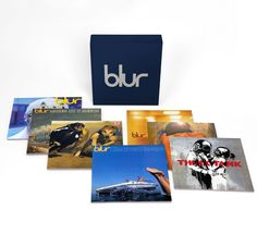 Blur 21. Vinyl Box set.7 albums remastered onto 180gsm vinyl pressings.