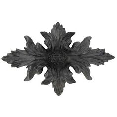 Antique Black Flower Wall Plaque | Shop Hobby Lobby
