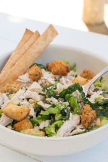Rustic Bakery's Caesar Salad Updated-When was the last time you went to Rustic Bakery at the Marin Country Mart for a good lunch? Debra Tarrant tells you about their Caesar Salad Updated. #MarinMagazine #MarinCounty #Rustic #Bakery #Recipe #Caesar #Salad #Eat #Food #Drink #Dine