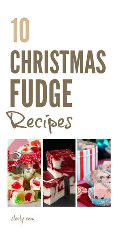 The best easy homemade Christmas fudge and Christmas toffee recipes and ideas that make lovely Christmas gifts including peanut butter fudge, white fudge, marshmallow fudge and 3 ingredient fudge you can make in the slow cooker or microwave Christmas Fudge, Christmas Sweets, Homemade Christmas, Christmas Baking, Christmas Gifts, Christmas Recipes, Christmas Foods, Kids Christmas, Christmas Cookies