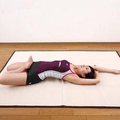 寝ている間に脂肪を燃やす「深呼吸ストレッチ」のやり方3ステップ